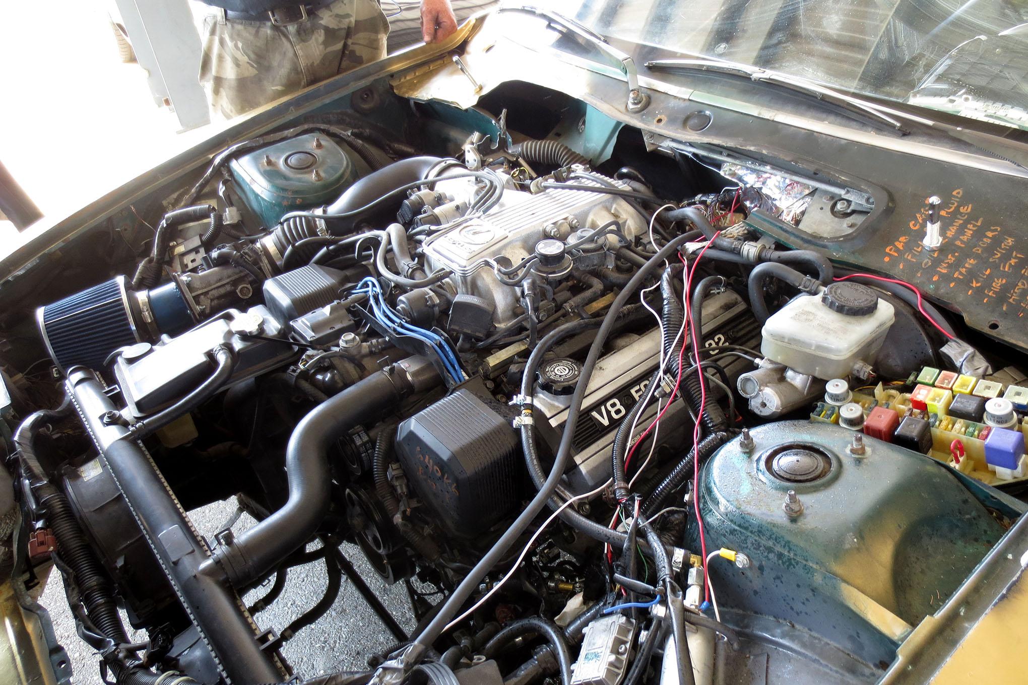 Toyota V8 Swap