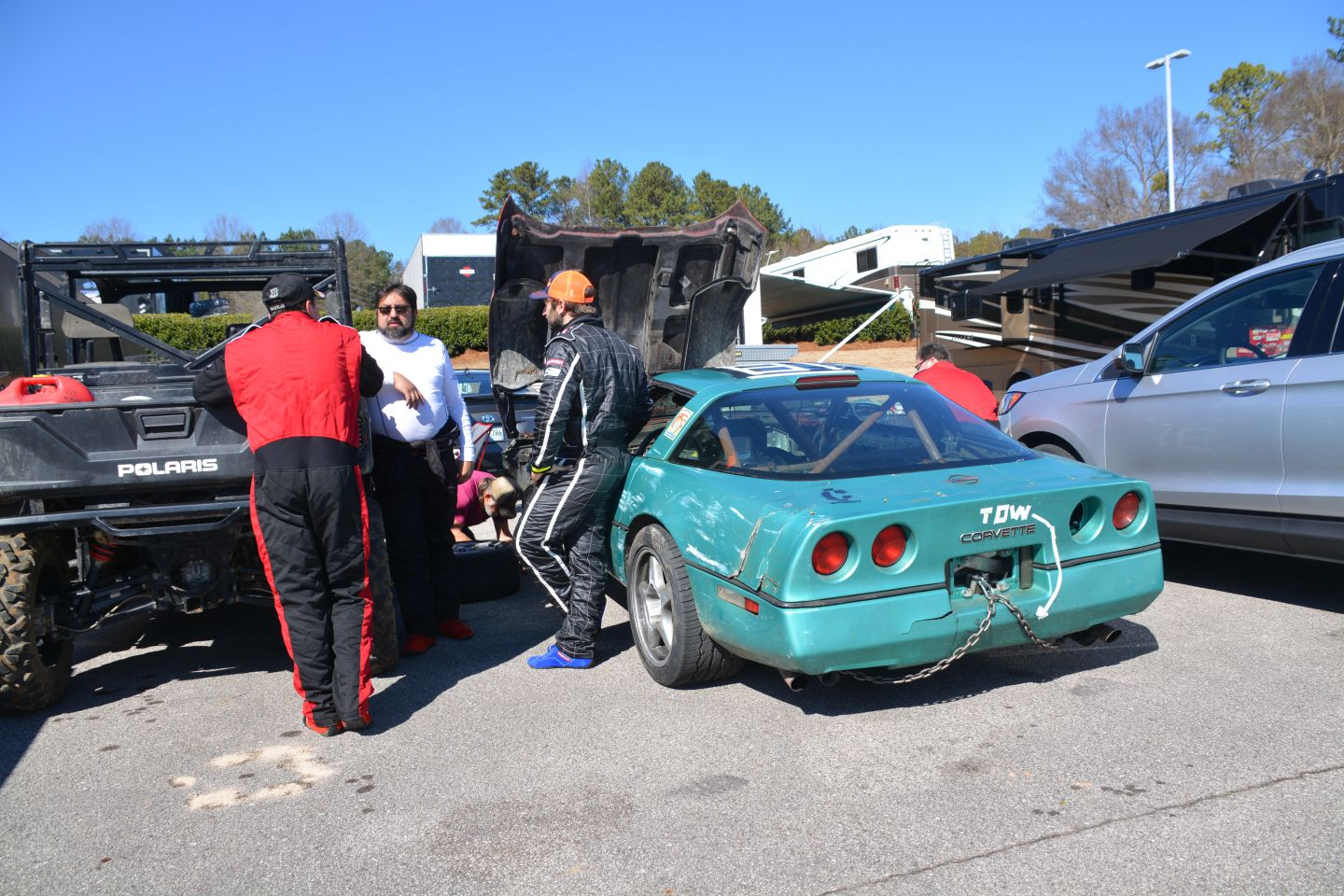 Corvette! The D-Team's Nasty, Knackered C4 - 24 Hours of LEMONS